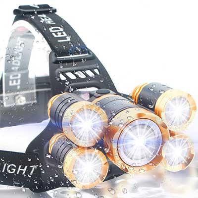 Soft Digits Ultra-Bright 5LED Headlight