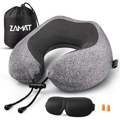 UTOU Travel Pillow 100% Pure Memory Foam Pillow