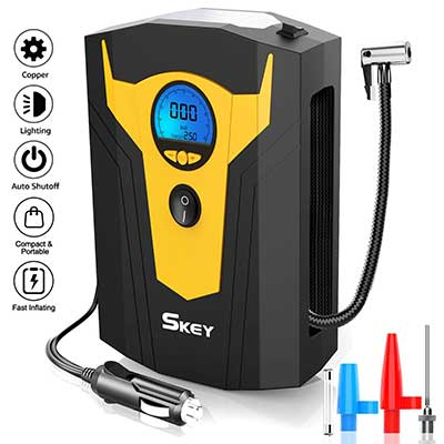 Skey Air Compressor Tire Inflator – Electric