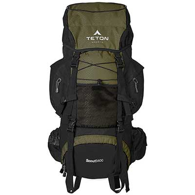 TETON Sports Scout Internal Frame Backpack