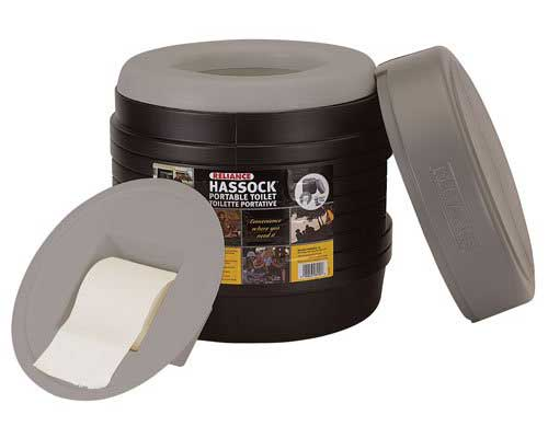 Reliance Products Hassock Self-Contained Toilet
