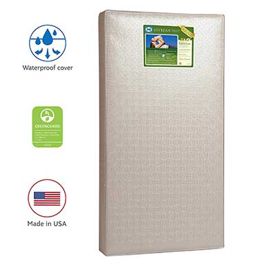 Sealy Soybean Crib Mattress