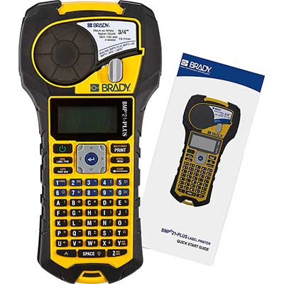 Brady BMP21-PLUS Handheld Label Printer