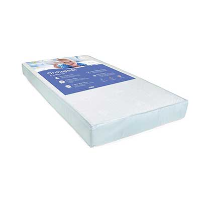 Big Oshi Non-Toxic Foam Crib Mattress