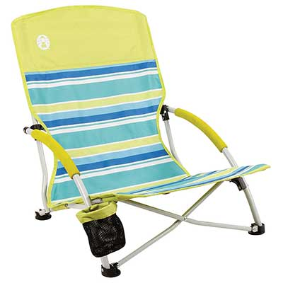 Coleman Camping Lightweight Utopia Breeze Beach Chair