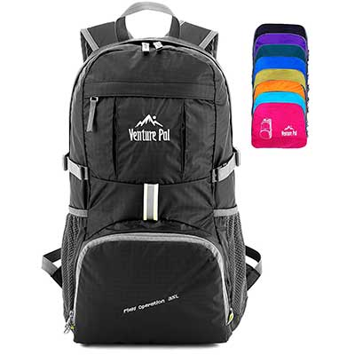 Venture Pal Packable Durable Travel Hiking Daypack