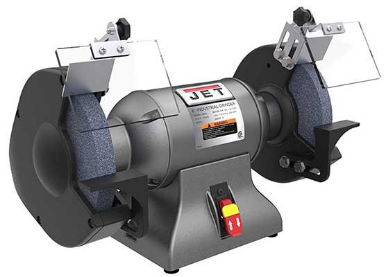 Jet 1 hp 8 Industrial Bench Grinder