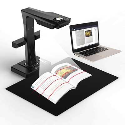 CZUR ET Advanced Book & Document Scanner
