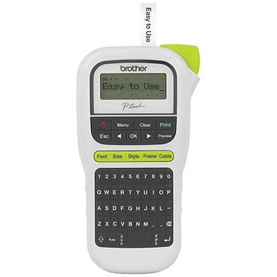 Brother P-touch PTH110, Easy Portable Label Maker