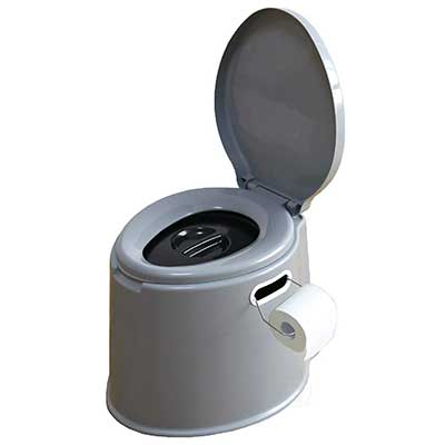Basicwise Portable Camping and Hiking Toilet