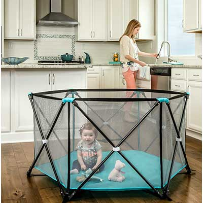 Regalo My Play Portable Play Yard Indoor and Outdoor