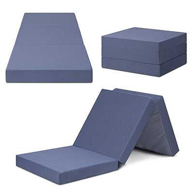 SLEEPLACE Multi-Layer Tri-Folding Memory Foam Topper Mattress