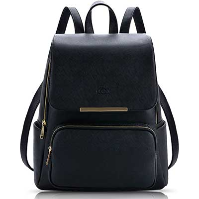 COOFIT Women's Faux Leather Backpack