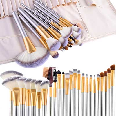 VANDER LIFE 24pcs Cosmetic Makeup Brush Set