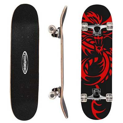 ChromeWheels 31-inch Skateboard Complete LongBoard