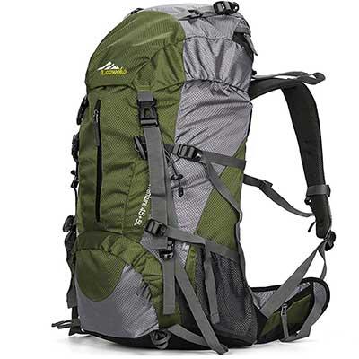 Loowoko 50L Travel Camping Backpack