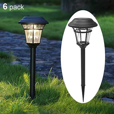Maggift 6 Lumens Solar Garden Lights Solar Landscape Lights