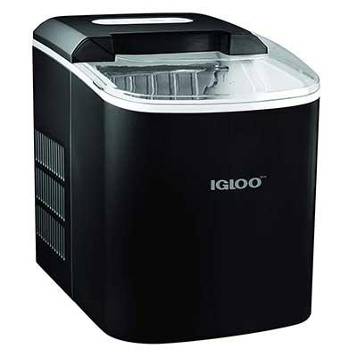 Igloo ICEB26BK Portable 26-Pound Automatic Ice Maker