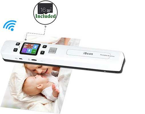 MUNBYN 1050 dpi Wireless Portable Scanners