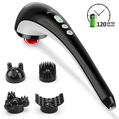 Snailax Cordless Handheld Back Massager