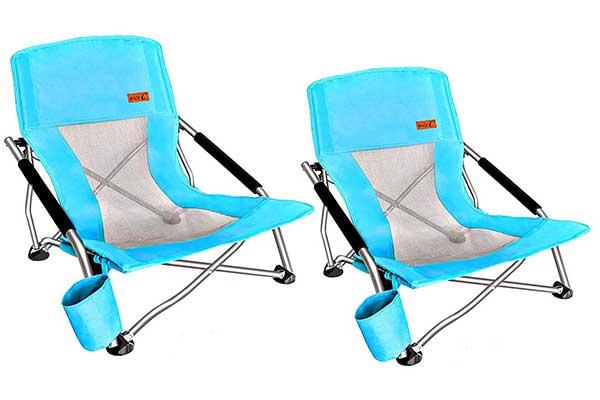 Nice C Low Beach Camping Folding Ultralight Chair