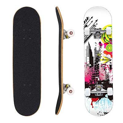Geelife Skateboard 7 Layers Decks