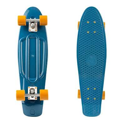 Retrospec Quip Skateboard Classic Retro Plastic