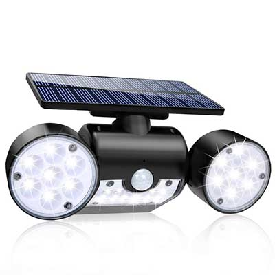 Solar Lights Outdoor, 30 LED Solar Security Lights