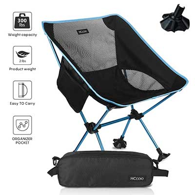 HCcolo Lightweight Folding Camping Backpack Chair