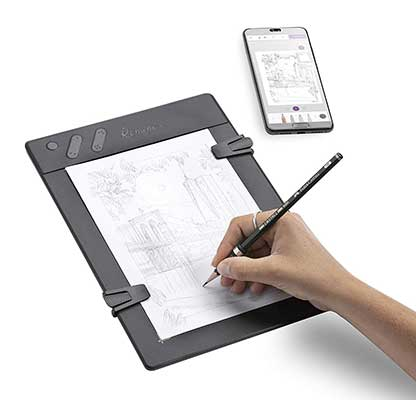 Iskn Repaper – Pencil & Paper Graphic Tablet with 8192 Pressure Levels
