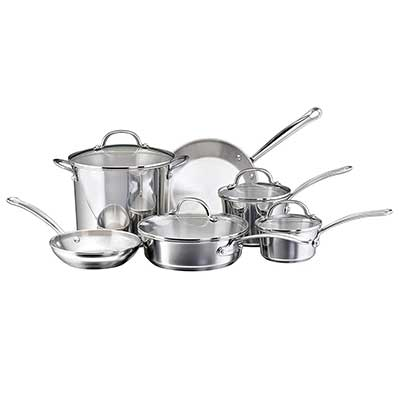 Farberware Millennium Stainless Steel Pots and Pans