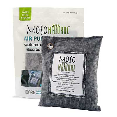 MOSO NATURAL Air Purifying Bamboo Charcoal Air Freshener