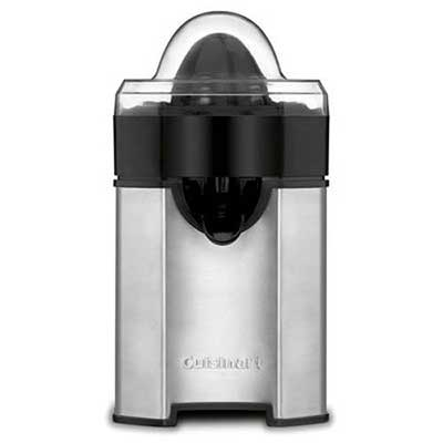 Cuisinart CCJ-500 Brushed Stainless Steel Citrus Juicer