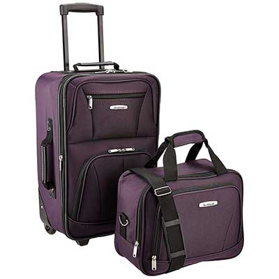 Rockland Luggage 2 Piece Cases