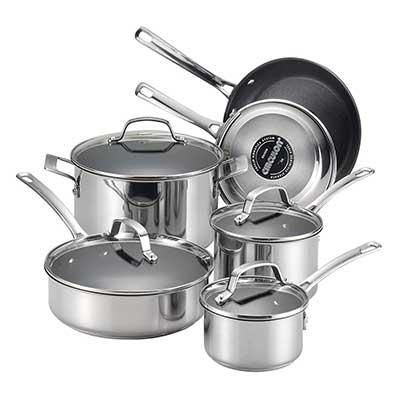 Circulon 77881 Genesis Cookware Pots & Pans Set
