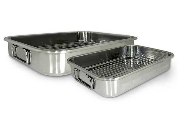Cook Pro 561 4-Piece Al-in-1 Lasagna and Roasting Pan