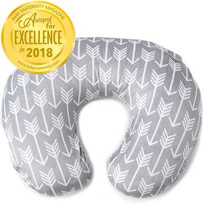 Kids N' Such Minky Nursing Pillow Arrow Pattern Slipcover