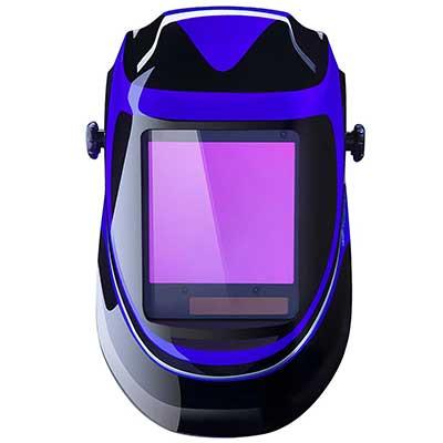 Solar Powered Welding Helmet Auto Darkening