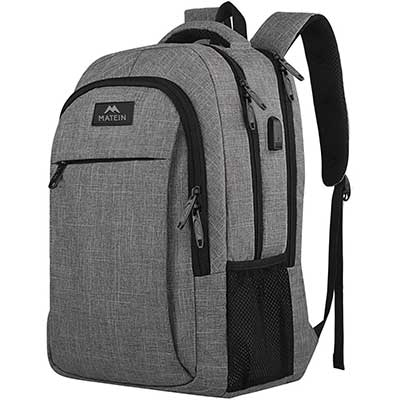 MATEIN Travel Anti-Theft Slim Laptops Backpack