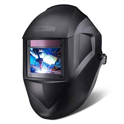 TACKLIFE Welding Helmet, Large Viewing Area