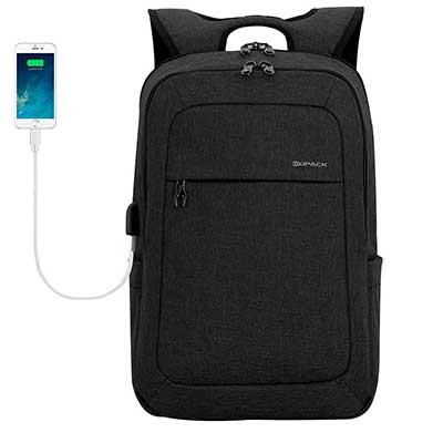 kopack 17'' Laptop Water Resistant Shockproof Backpack