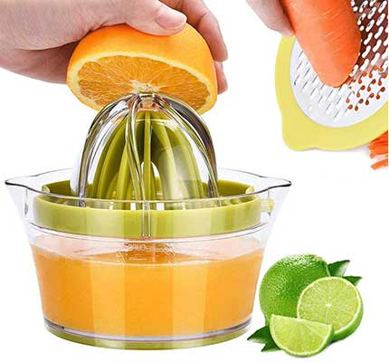 Drizom Citrus Juicer Manual Hand Squeezer