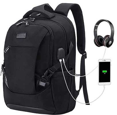 Tzowla Travel Laptop Waterproof Business Backpack