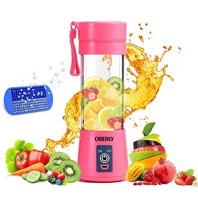 OBERLY Smoothie Six Blades Fruit Mixing Machine