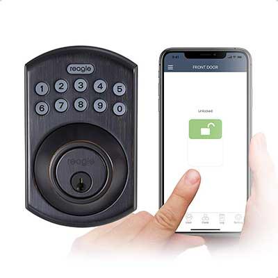 Reagle Smart Lock, Bluetooth keypad Deadbolt