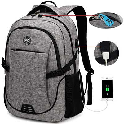 SOLDIERKNIFE Waterproof Anti-Theft Laptop Backpack