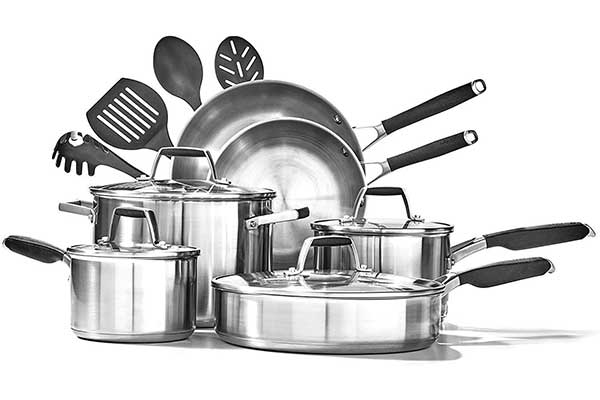 Calphalon Stainless Steel Deluxe Cookware Set