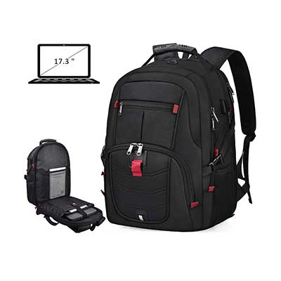 NUBILY Anti-Theft College School Business Laptop Backpack