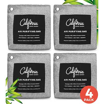 California Home Goods Bamboo Charcoal Air Purifying Bag
