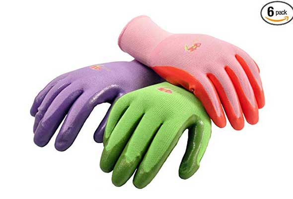 10. G & F Products Women Gardening Gloves with Micro Foam Coating